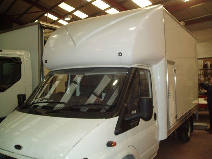 COMMERCIAL VEHICLE - 3.5TON WIND DEFLECTORS